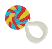 Little toader 3D appeTEETHERS Teething Toys