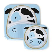 SKIP HOP Zoo Tabletop Melamine Set Series #2      [Member price : HK$107]