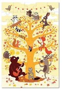 Krooom Puzzle - Forest Animals              [Member price : HK$140]