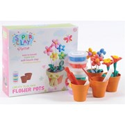 Tiger Tribe Super Clay™ Kits - Flower Pots              [Member price : HK$179]