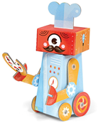 Krooom Folding Toys - Chef robot              [Member price : HK$53]