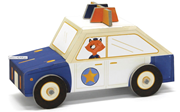 Krooom Folding Toys - Police car             [Special price : HK$45]