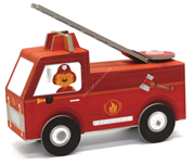 Krooom Folding Toys - Fire truck             [Special price : HK$45]
