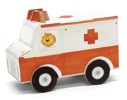 Krooom Folding Toys - Ambulance            [Special price : HK$45]