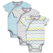 Skip Hop Side-Snap Short Sleeve Bodysuit Set - Boy     [Member price : HK$212]