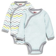 Skip Hop Side-Snap Long Sleeve Bodysuit Set - Boy     [Member price : HK$212]