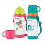 Nuby Stainless Steel Cups - 360ml  [Member price : HK$224]