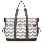 Skip Hop Duo Double Hold-it-all Diaper Bag - Chevron          [Member price : HK$719]