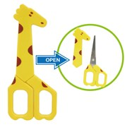 California Bear Baby Food Scissors - Giraffe    [Member price : HK$40]