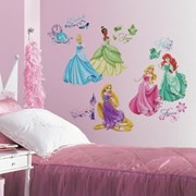 RoomMates (USA) Removable Wall Decals - Disney - Princess Royal Debut Wall Decals          [Member price : HK$169]