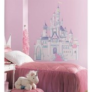 RoomMates (USA) Removable Wall Decals - Disney - Princess Castle Giant Wall Decal with Glitter          [Member price : HK$286]