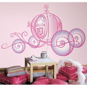 RoomMates (USA) Removable Wall Decals - Disney - Princess Carriage          [Member price : HK$682]