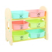 Edu.play (Korea) FUN 3 Stair Storage Box (Beige)    [Member price : HK$569]