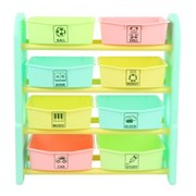 Edu.play (Korea) FUN 4 Stair Storage Box (Mint)    [Member price : HK$664]