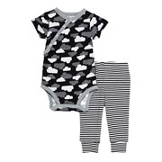 Skip Hop Star-struck SS Bodysuit & Pant Set - Cloud     [Member price : HK$224]
