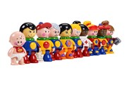 Tolo (UK) First Friends World People (1-5 years old)   [Member price : HK$839]