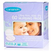 Lansinoh Ultra thin, stay dry Nursing Pads (Pack of 60)   [Member price : HK$108]