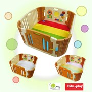 Edu.play (Korea) Happy Babyroom + Living codi Playmat set (116 x 116 cm)      [Member price : HK$2039]