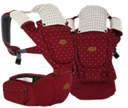 i-angel (Korea) Rainbow 2 - 3 in 1 Hip Seat + Carrier (1M - 36M)       [Member price : HK$1618]