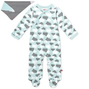 Skip Hop Star Struck Footie and Bib - Blue     [Member price : HK$206]
