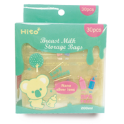 Hito (Japan) Breast Milk Storage Bags 200ml (30pcs)      [Member price : HK$89]