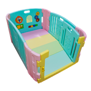 Edu.play (Korea) Happy Babyroom (Candy) + Living codi Playmat set (84 x 136 cm)      [Member price : HK$2205]