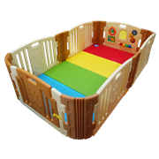 Edu.play (Korea) Happy Babyroom + Living codi Playmat set (129 x 215 cm)      [Member price : HK$3209]