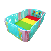 Edu.play (Korea) Happy Babyroom (Candy) + Living codi Playmat set (129 x 215 cm)      [Member price : HK$3447]