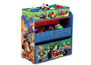 Delta Children (USA) Mickey (ROASTER RACER) Multi-Bin Toy Organizer  [Member price : HK$449]