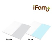 iFam (Korea) Convertible Mat for Shell Baby Room (125 x 125 x 4cm)      [Member price : HK$880]