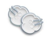 BABYBJORN Baby Plate, Spoon and Fork (2 sets)      [Member price : HK$207]