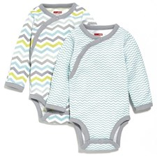 dbbbdc757866 Skip Hop Side-Snap Long Sleeve Bodysuit Set - Boy  Member price   HK ...